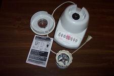 Oster 10 speed blender --  missing jar put works -- parts or repair.
