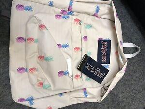 jansport superbreak backpack new