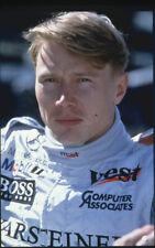 Mika Häkkinen Finnish Formula 1 Motor Racing Champion Original 35mm Transparency