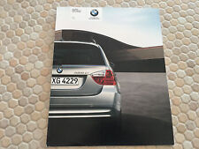 BMW OFFICIAL 3 SERIES 328xi & 328i SPORTS WAGON PRESTIGE SALES BROCHURE 2007 USA