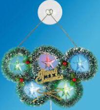 Markenlose Kunststoff Weihnachts-Fensterschmuck
