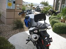 Long Luggage Rack and Backrest for BMW 650GS twin 700GS 800GS