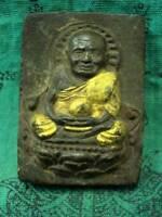 Phra LP Tuad Wat Phako Powerful Holy Fetish Maestro Magic Thai Buddha Amulet