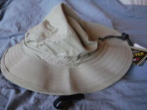 Cabelas Beige Gortex Fishing Hat New One Size Fits Most