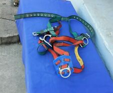 Vintage 1990 Rose Mfg Co Lineman Safety Climbing Safety Harness Roof/Climbing