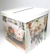 """Kartenbox Briefbox """"polaroid"""" Multicolor Hochzeit"""