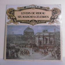 """33T LEVERS RIDEAU 6 MARCHES CELEBRES Vinyl LP 12"""" BELLES MUSIQUES MONDE -SRD 931"""