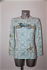 maglietta a manica lunga glam roccia SMET # hallyday Taglia XS ETICHETTA
