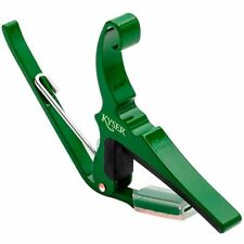 New Kyser KG6EG Quick Change 6-String Acoustic Guitar Capo, Emerald Green