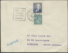 1952 Cover / Lettre FRANCE HAUTE SAVOIE DAGUIN LA ROCHE / SUR FORON /7 AU 12 MAI