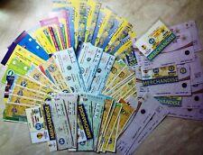 1999 - 2013 BATE BORISOV BELARUS EUROCUPS TICKETS