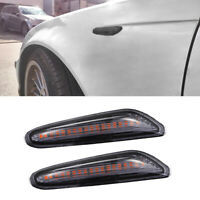 Dynamic LED Side Marker Lights Turn Signal Indicator For BMW E81 E82 E87  X3 X1