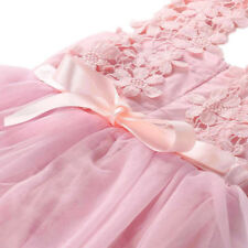 Flower Girl Dresses Princess Prom Toddler Wedding Bridesmaid Party Formal Tulle