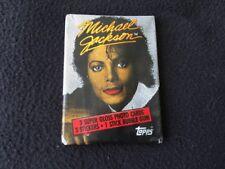 1984 Topps Michael Jackson Series 1 Red Lip Wax Pack - Very Rare