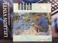 "Sting Love Is The Seventh Wave 12"" Single Vinyl Ltd Ed AMY272 Pop 80's + Poster"