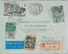 81040 - MADAGASCAR - POSTAL HISTORY -  Airmail COVER 1959 - BRIDGES Coffee BIRDS