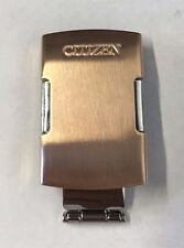 Citizen Rose Gold Buckle Clasp 20MM AT4106-52X Stainless Steel Complete Buckle