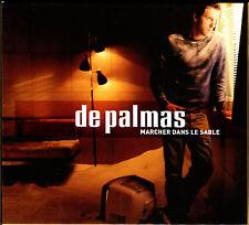 DE PALMAS - MARCHER DANS LE SABLE  CD ALBUM 13 TITRES + DVD 3 CLIPS BOITE CLOCHE