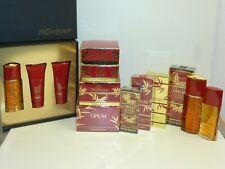 YSL OPIUM Collection, EDT / EDP / Soap & Case / Powder / EDT Gift Set - RARE