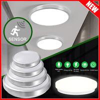 Deckenleuchte Sensor Flach LED Bewegungsmelder Lampe 360° Schlafzimmer Küche DE