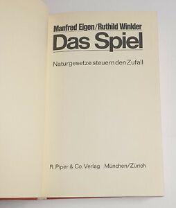 Das Spiel. Naturgesetze steuern den Zufall M. Eigen und R. Winkler, Piper 1975