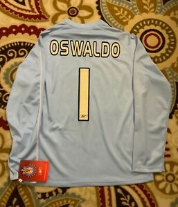 Jersey Chivas GoalKeeper Long Sleeve Oswaldo Sanchez #1 Size Small (Over Size-M.