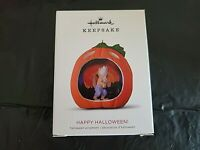 Hallmark 2018 Happy Halloween! Werewolf 6th in Series Pumpkin Keepsake Ornament
