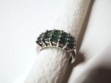 Echter Smaragd - Silberring 925 Silber,