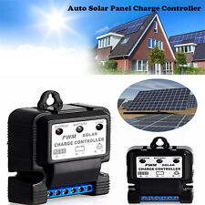 6V 12V 10A Auto Solar Panel Charge Controller Battery Charger Regulator PWM Hot