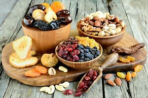 1Kg Soft Dried Mixed Fruits And Nuts -Apricots Prunes Figs Pear Dates Nuts Mix.