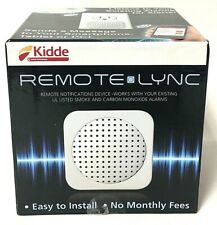 Kidde Remote Lync Home Monitoring Device Smoke & Carbon Monoxide Alarm