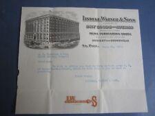 1917 - Lindeke Warner - Dry Goods and Notions - Letterhead Document - St Paul