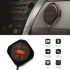 Magnet Wireless Bluetooth FM Transmitter in Car 2 USB Charger Radio Mp3 Player