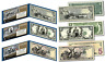 EDUCATIONAL SERIES 1896 Designed NEW Legal Tender Bills $1/$2/$5 - Set of all 3