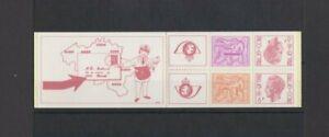 Belgium 1978 King Baudouin & Lion 15F Booklet MNH per scan