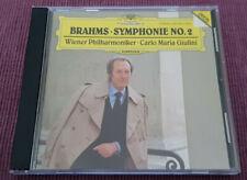 Carlo Maria Giulini - Brahms - Symphony No.2 - Deutsche Grammophon – 435 348-2