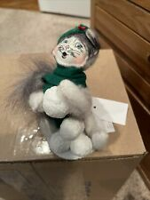 """Annalee Snowball Kitty Cat Collectible Figurine 4""""H 2016"""