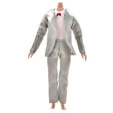 2Pcs/Set Handmake Suit Pant Set for Barbie Ken Dolls 3 Colors Pip  QC