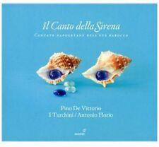 Pino de Vittorio - Canto Della Sirena: Cantate Napoletane Barocca [New CD]