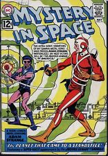 Mystery In Space 75 Adam Strange Justice League America 2nd Kanjar Ro 1962 NICE!