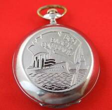 Rare Vintage Pocket watch Molnija Soviet Ussr mechanical 3602 unique case works