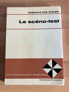 Le SCENO-TEST de GERHILD VON STAABS - Livre