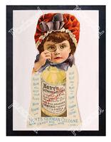 Historic Hoyt's German Cologne 1890s Advertising Postcard