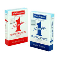 New Waddingtons Classic Red and Blue Twin Pack  Number 1 Playing Cards