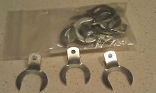 Flathead Ford Sidevalve 1932-54 valve guide clips Horseshoe clips hot rod set 16