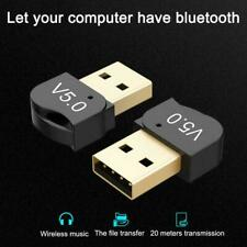 USB 5.0 Bluetooth Adapter Wireless Dongle High Speed For PC Windows Q1I9