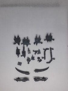 Warhammer 40K Ork Battlewagon dangles horns stikkbomb launchers icons glyphs
