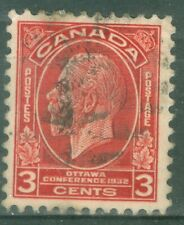 Canada 1931 - 3¢ Deep Red KGV Imperial Economic Conference- Sc#192