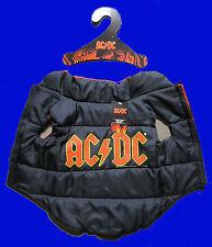 ACDC ROCK BAND DOG COAT JACKET PUFF PUFFY JACKET AC DC AUSTRALIAN NEW OFFICIAL