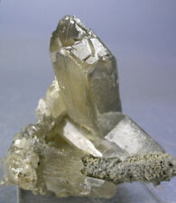 FINE OLD-TIME CERUSSITE V-TWIN CRYSTALS, TSUMEB, NAMIBIA, GLOBE MINERALS